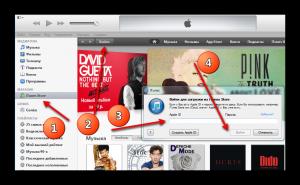 Авторизация Apple ID в iTunes